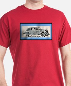 """1936 Lincoln Zephyr"" T-Shirt"