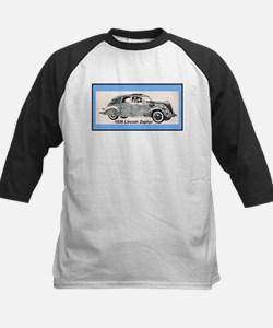 """1936 Lincoln Zephyr"" Kids Baseball Jersey"