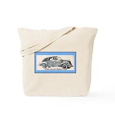 """1936 Lincoln Zephyr"" Tote Bag"