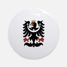 Silesian Eagle Ornament (Round)
