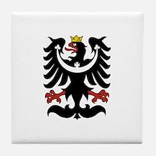 Silesian Eagle Tile Coaster