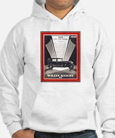 """1929 Willys-Knight Ad"" Hoodie"