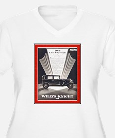"""1929 Willys-Knight Ad"" T-Shirt"