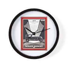 """1929 Willys-Knight Ad"" Wall Clock"