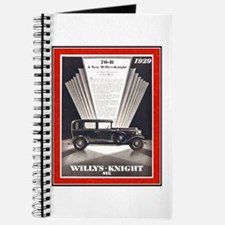 """1929 Willys-Knight Ad"" Journal"