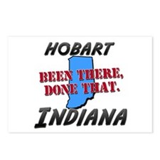 hobart indiana - been there, done that Postcards (