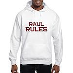 raul rules Hooded Sweatshirt