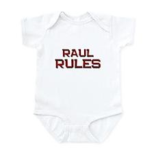 raul rules Infant Bodysuit