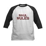 raul rules Kids Baseball Jersey