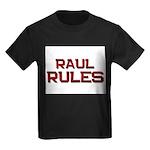raul rules Kids Dark T-Shirt