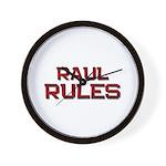 raul rules Wall Clock