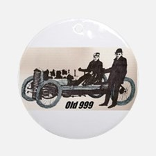 """""""Old 999"""" Ornament (Round)"""