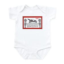 """""""Model T Ad"""" Infant Bodysuit"""