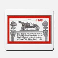 """Model T Ad"" Mousepad"