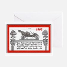"""""""Model T Ad"""" Greeting Card"""