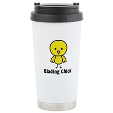 Blading Chick Travel Mug