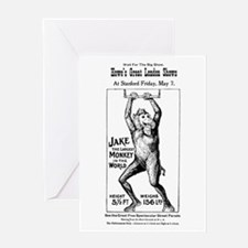 04/27/1909: Jake the Monkey Greeting Card