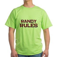 randy rules T-Shirt