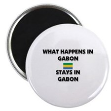 What Happens In GABON Stays There Magnet