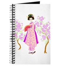 Unique Geisha girl Journal