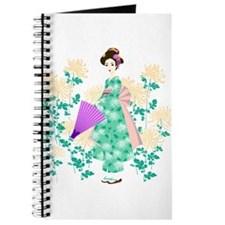 Funny Geisha girl Journal