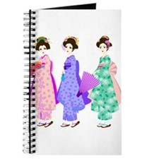 Cute Geisha girl Journal