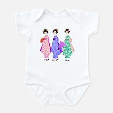 Cute Geisha Infant Bodysuit