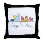 Angel's Wish Throw Pillow