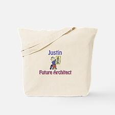 Justin - Future Architect Tote Bag