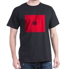 Carnation Red/ Black T-Shirt