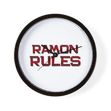 ramon rules Wall Clock