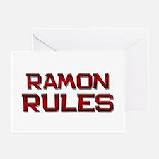 ramon rules Greeting Card