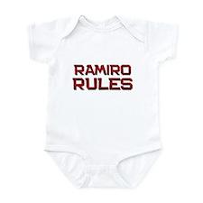 ramiro rules Infant Bodysuit