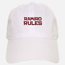 ramiro rules Baseball Baseball Cap
