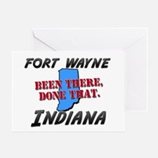 fort wayne indiana - been there, done that Greetin