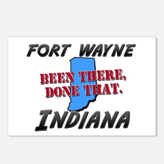 fort wayne indiana - been there, done that Postcar