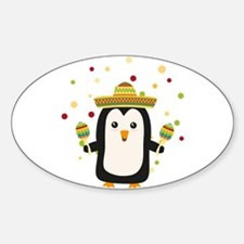 Penguin Mexico Fiesta Cz87f Decal