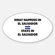 What Happens In EL SALVADOR Stays There Decal