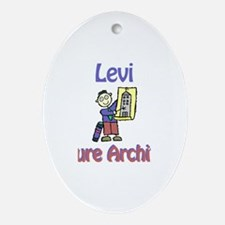 Levi - Future Architect Oval Ornament