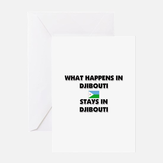 What Happens In DJIBOUTI Stays There Greeting Card