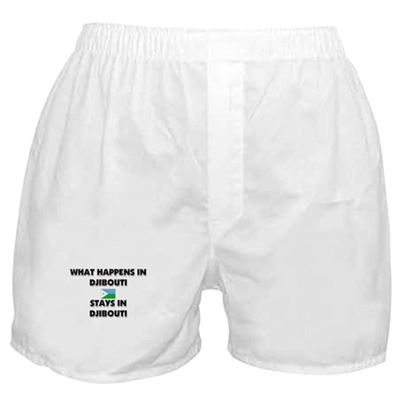 What Happens In DJIBOUTI Stays There Boxer Shorts