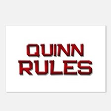 quinn rules Postcards (Package of 8)