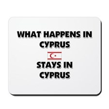 What Happens In CYPRUS Stays There Mousepad