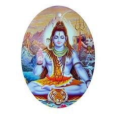 Shiv Ji Oval Ornament