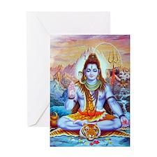 Shiv Ji Greeting Card