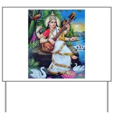 Saraswati ji Yard Sign