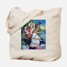 Saraswati ji Tote Bag