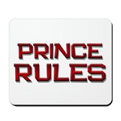 prince rules Mousepad