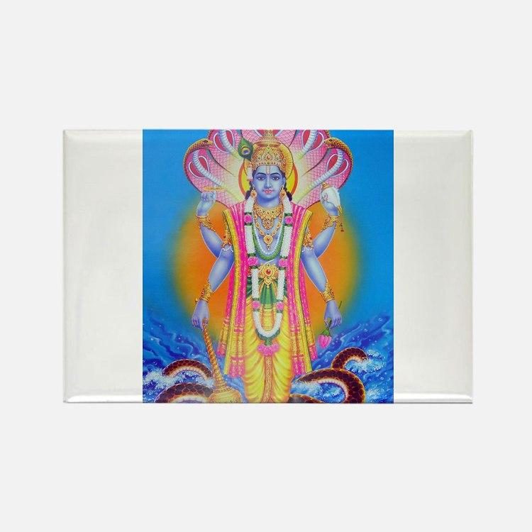 Vishnu ji Rectangle Magnet