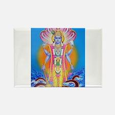 Vishnu ji Rectangle Magnet (10 pack)